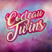 Cocteau Twins (Lettering fan art). Un proyecto de Lettering de Carlos Vargas Gutiérrez - 22.09.2019