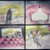 Mi Proyecto del curso: Introducción al cómic autobiográfico. A Kinderillustration project by Tere Arvide - 23.09.2019