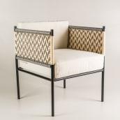 Silla Memo. A Crafts, Furniture Design & Industrial Design project by Carolina Ortega - 09.24.2019