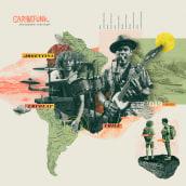 Proyecto: Collage digital Caribefunk. Un proyecto de Diseño, Diseño editorial, Diseño gráfico y Collage de Rich - 24.09.2019