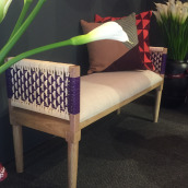 Banca Paraíso. A Crafts, Furniture Design & Industrial Design project by Carolina Ortega - 09.24.2019