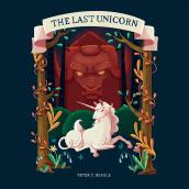 The Last Unicorn Book Cover. Un proyecto de Ilustración, Diseño editorial, Ilustración digital e Ilustración infantil de Stephany Mesa - 23.09.2019