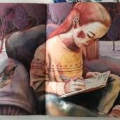 Ilustración Editorial . Um projeto de Ilustração, Artes plásticas, Desenho a lápis, Ilustração de retrato e Ilustração infantil de Ana Santos - 01.03.2019