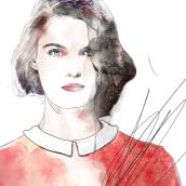 ILUSTRACIÓN DE MODA_ TÉCNICA MIXTA. Un projet de Illustration et Illustration numérique de Robert Tirado - 26.09.2019