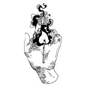 Ilustración de tinta. Un proyecto de Dibujo, Dibujo artístico e Ilustración de Daria Fedotova - 28.09.2019