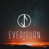 Everjourn. Un proyecto de Br, ing e Identidad, Diseño gráfico, Diseño de logotipos y Diseño de moda de Daria Fedotova - 28.09.2019