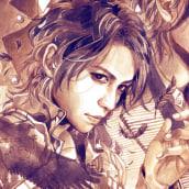 L´Arc en Ciel [Ilustración Realista]. Un projet de Beaux Arts, B, e dessinée, Aquarelle , et Dessin réaliste de Andrea Jen - 07.09.2015