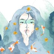 Mi Proyecto del curso: Técnicas de ilustración con acuarela digital. Un proyecto de Ilustración digital de Mechi Arrighi - 04.10.2019