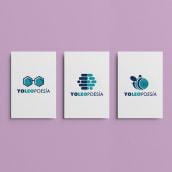 YoLeoPoesía. Un proyecto de Br, ing e Identidad, Diseño de logotipos y Diseño gráfico de Pack Up - 08.10.2019