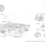 "Fanzine ""Una Chica Rara pte.1"". A Comic, Cartoon & Illustration project by Sara Jotabé - 09.09.2016"