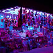 Cyberpunk Fair. Un progetto di Fotografia, Fotografia digitale e Illuminazione fotografica di Esteban Zamora Voorn - 09.10.2019