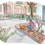 Mi Proyecto del curso: Ilustración en acuarela con influencia japonesa. Un progetto di Illustrazione di Mariana Gallo - 14.10.2019