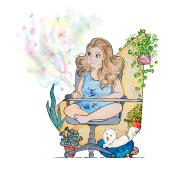 Mi Proyecto del curso: Claves para crear un portafolio de ilustración profesional. Un projet de Design , Illustration, Illustration de portrait et Illustration jeunesse de María López - 14.10.2019