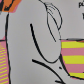 Madrid Gráfica - Ciudades Sostenibles . Un proyecto de Diseño gráfico, Diseño de carteles e Ilustración digital de Aida Hadid - 19.08.2019