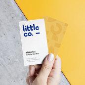 Trabajo de branding: LittleCo. . Un proyecto de Diseño, Dirección de arte, Br, ing e Identidad, Diseño gráfico, Tipografía, Diseño de iconos y Diseño de logotipos de José Antonio Arreza Pérez - 20.11.2018