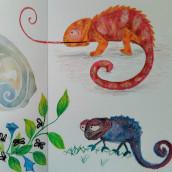 Mi Proyecto del curso: Técnicas de ilustración para desbloquear tu creatividad. Un proyecto de Ilustración de Andrea Pronsato - 21.10.2019