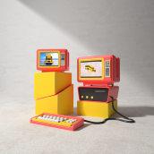 Nostalgia. Un progetto di 3D, Creatività e Illustrazione digitale di Yonito Tanu - 25.10.2019