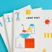 Libro ¿Qué ves?. Un progetto di Illustrazione, Direzione artistica, Progettazione editoriale , e Graphic Design di Pin Tam Pon - 01.11.2017