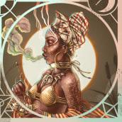 Brujas. A Illustration, Digital illustration, and Portrait illustration project by Sebastián Rubiano - 11.02.2019
