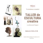 Taller de Escultura Creativa en Barcelona. Un projet de 3D, Architecture, Artisanat, Beaux Arts, Collage, Art urbain, Créativité, Décoration d'intérieur , et Céramique de Eleonora Tugues Plaza - 02.11.2019