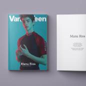 Manu Ríos for Vanity Teen SS18. Un proyecto de Dirección de arte de Rodrigo Merchán - 07.07.2018