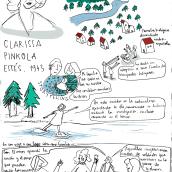 Clarissa Pinkola Estés. Un proyecto de Ilustración de Usue Egia - 09.11.2019