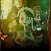 Pre-producción Cortometraje El árbol de las almas perdidas. Um projeto de Animação, Animação 3D, Desenho a lápis e Concept Art de Laura Zamora - 10.11.2019