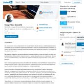 Henry Pulido Benedetti - LinkedIn: construye tu marca personal . Un projet de Marketing de Henry Pulido Benedetti - 14.11.2019