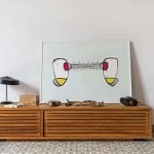 Ilustración abstracta. A Illustration, Vector Illustration, and Creativit project by Yolanda Pérez Sánchez - 11.15.2019