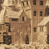Medieval Town. A 3-D-Animation project by Albert Valls Punsich - 16.11.2019
