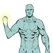 Mi Proyecto del curso: Ilustración para cómics: anatomía de un superhéroe. A Illustration, Comic, and Digital illustration project by camilo182 - 11.16.2019