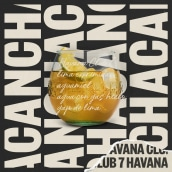 Havana Club 7 — Dirección de arte. Um projeto de Direção de arte e Design de títulos de crédito de azul recreo - 20.11.2019