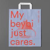 ALI-BEY nens. Un progetto di Design, Br, ing e identità di marca, Graphic Design, Serigrafia , e Progettazione 3D di Albert Badia - 25.11.2019