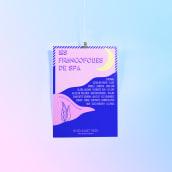 Les Francofolies de Spa - Campaign Design Project. A Graphic Design project by Eleni - 11.26.2019