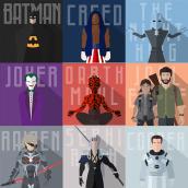 Hobby Characters - Motion Graphic (Joan Congost). Un proyecto de Animación de personajes de Joan Congost Abelenda - 28.11.2019