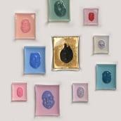 My Many Me - Cuadros experimentales de acrilico y resina. Um projeto de Escultura de Francesca Dalla Benetta - 02.01.2017