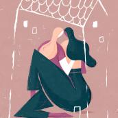 Friends illustration- Amigas. Un proyecto de Ilustración de Albert Pinilla Ilustrador - 03.12.2019