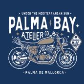 PALMA BAY. Un proyecto de Ilustración, Br, ing e Identidad y Diseño Web de Alberto Ojeda - 04.12.2019