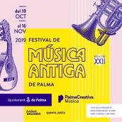 MUSICA ANTIGA. Un proyecto de Br e ing e Identidad de Alberto Ojeda - 04.12.2019