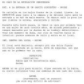 Guion de cinemáticas. Um projeto de Videogames de Víctor Ojuel - 04.12.2019