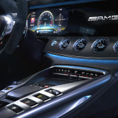 AMG-GT-63S-INTERIOR. Un progetto di 3D , e Fotografia digitale di Alberto Luque - 05.12.2019