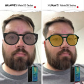Filtro AR - Navidad Huawei. A 3d modeling project by Paul Brown - 12.08.2018