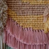 Mi Proyecto del curso: Introducción al latch hooking y locker hooking. Un proyecto de Artesanía e Ilustración textil de Sara Pedrero Díaz - 10.12.2019