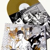 Hits With Tits Vol.6 | Vinilo | ArtWork & Art Direction. Un proyecto de Música, Audio, Collage, Creatividad, Ilustración digital y Lettering digital de Ada Diez - 11.12.2019