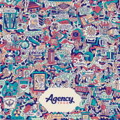 AGENCY TOUR // POSTER. A Illustration, Graphic Design, Vector Illustration, and Poster Design project by Mauro Martins - 12.01.2017