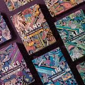 ART OF PLAY  // DECK OF CARDS COLLECTION. Um projeto de Ilustração, Design gráfico, Packaging, Design de produtos e Ilustração vetorial de Mauro Martins - 01.12.2018