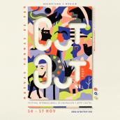 Cut Out XI . Un projet de Illustration , et Lettering de Joaquín Seguí - 18.12.2019