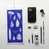 Proyecto final curso Diseño Estampados Casita Wendy. Un proyecto de Ilustración textil de María León - 17.10.2019