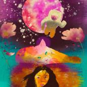 Mi Proyecto del curso: Técnicas de ilustración con acuarela digital. Um projeto de Ilustração digital de Valentina Villalón Hurtado - 21.12.2019