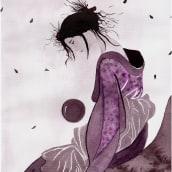 Mi Proyecto del curso: Introducción a la ilustración con tinta china. A Illustration project by Fátima Aguilera Sánchez - 12.21.2019